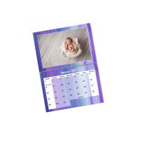 1 x A4 Double Personalised Calendar incl Delivery