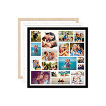 20 x 20cm (8 x 8in) Framed Print incl Delivery