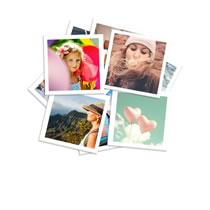 Photo Prints Medium Square 100 x 100mm 24pk incl Delivery