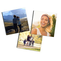3 x Photo Tiles 20 x 20cm (8 x 8in) incl Delivery