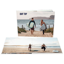 20pg 11x14inch (28x35cm) Pro Hardcover Lay-Flat incl Delivery